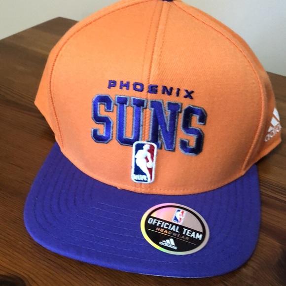 online store ed302 bef16 ADIDAS Phoenix Suns Flat bill   snap back.